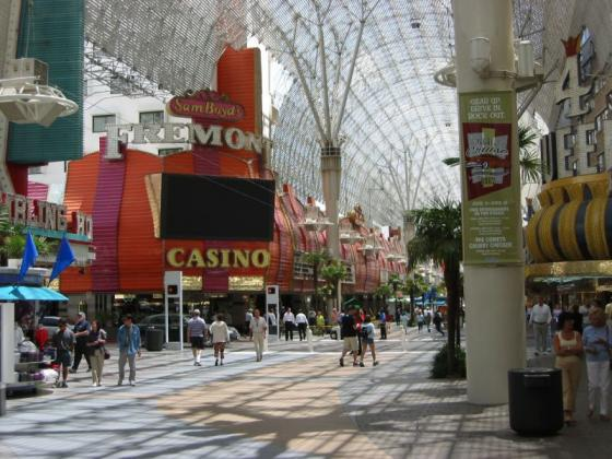 Las Vegas downtown